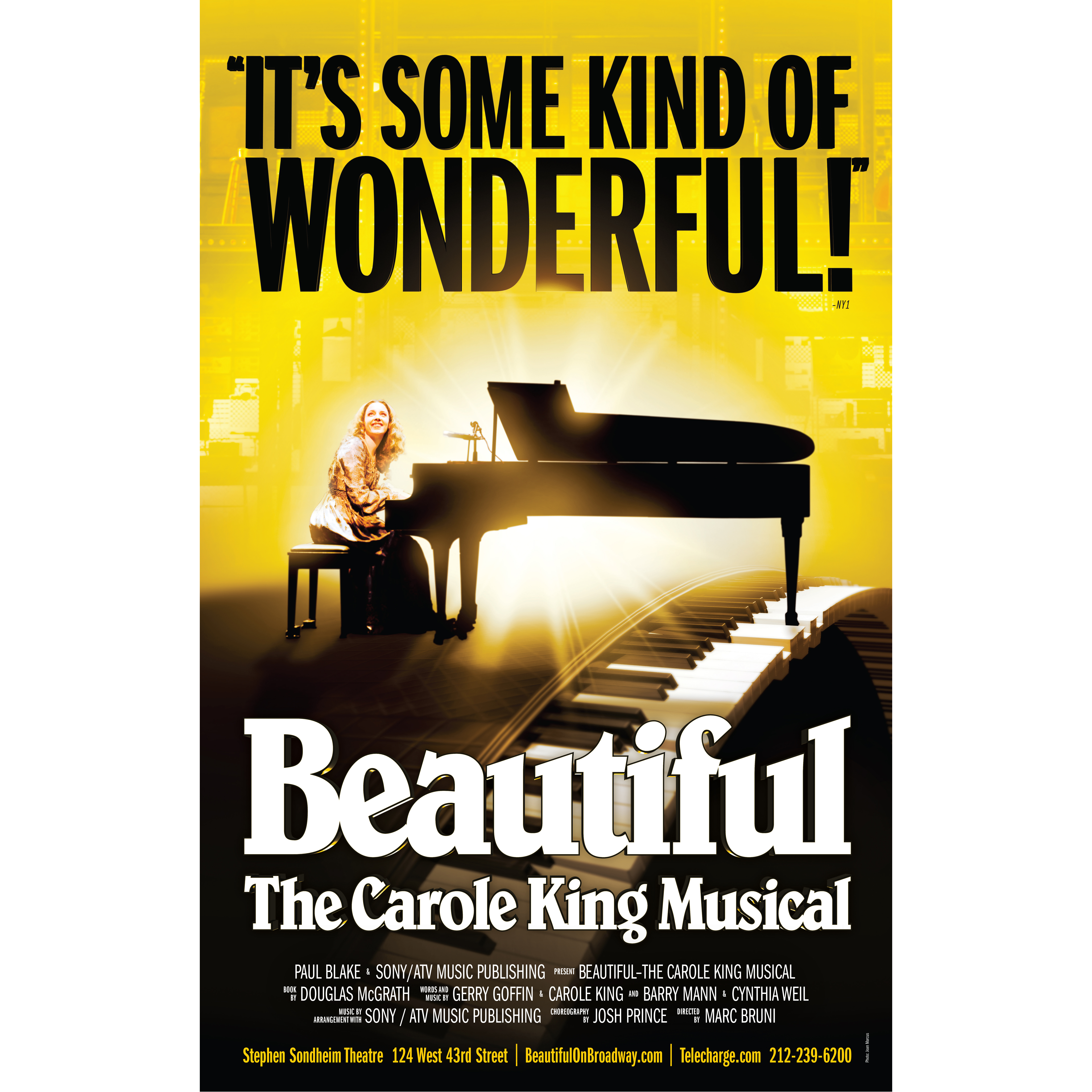 Beautiful , The Carole King Musical at The McCallum Theatre in Palm Desert