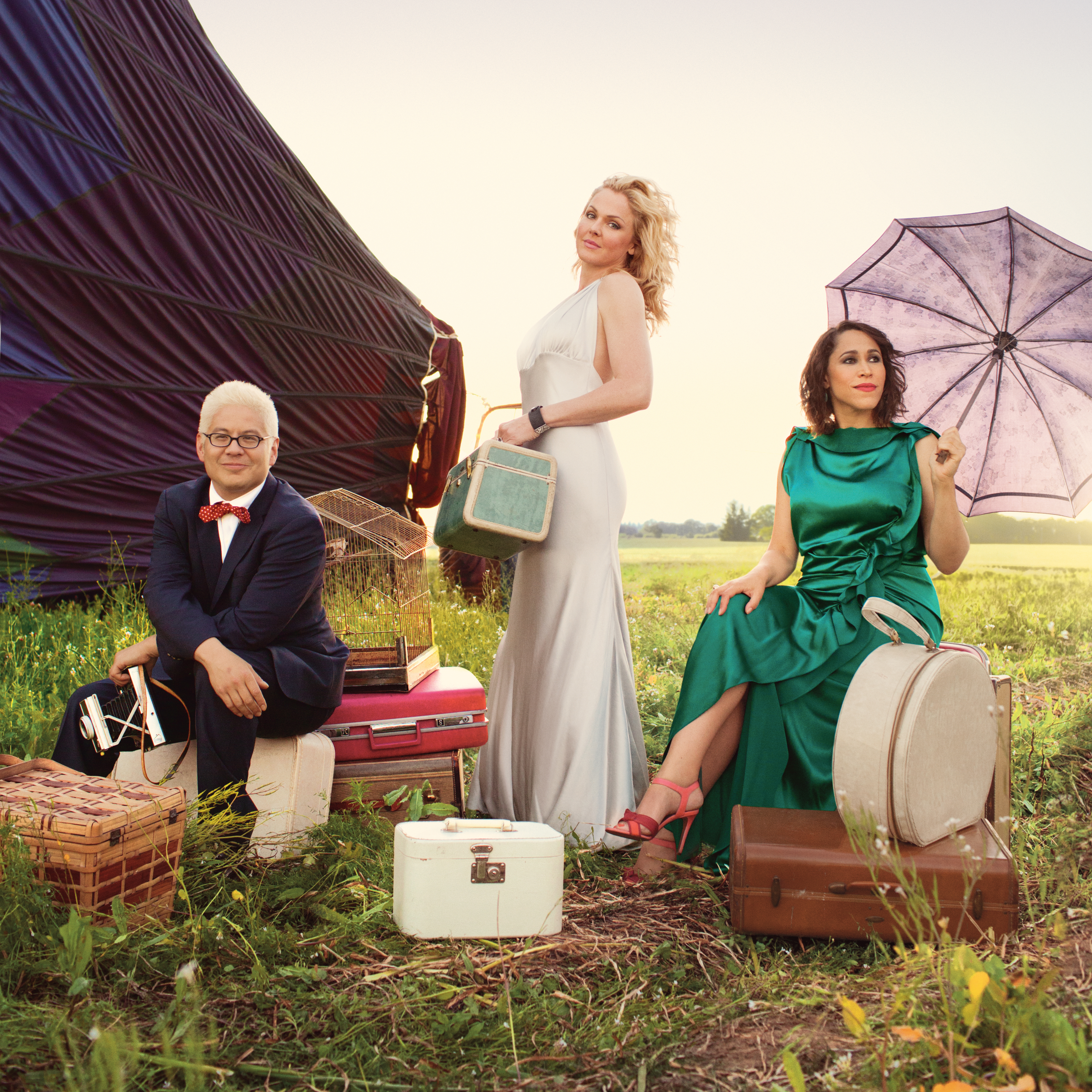 Pink Martini Featuring Singers China Forbes and Storm Large at The McCallum Theatre in Palm Desert