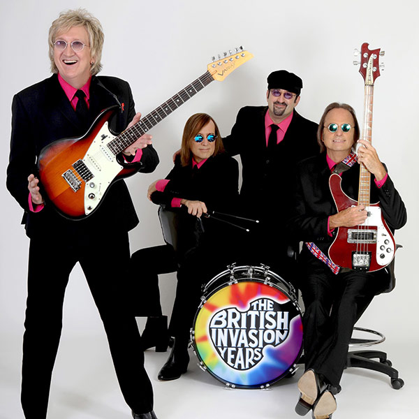 The British Invasion Years - A 60's Musical Revolution at The McCallum Theater in Palm Desert