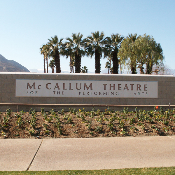 Performing Arts Ticket Theater | Palm Springs CA | Palm Desert CA